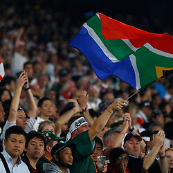 General views Fans during the Rugby World Cup Final match between South Africa Springboks and England Rugby World Cup Final at the International Stadium Yokohama  Japan.Saturday 02 November 2019. (Mandatory Byline -Steve Haag Sports Hollywoodbets)