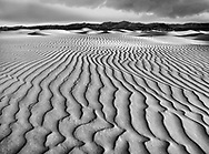 Sand ripples at Stovepipe Wells in Death Valley National Park, California, USA