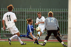 Rene Mihelic of Slovenia during the Qualifications for UEFA U-21 EC 2009 soccer match between Slovenia and Finland at Velenje stadion At lake, on September 9,2008, in Velenje, Slovenia.  (Photo by Vid Ponikvar / Sportal Images)