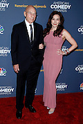 Patrick Stewart attends the 2014 American Comedy Awards at the Hammerstein Ballroom in New York City, New York on April 26 2014.