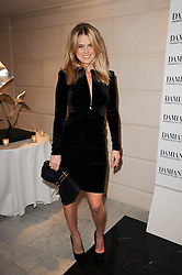 ALICE EVE at a dinner hosted by jewellers Damiani at The Connaught Hotel, London on 3rd February 2010.