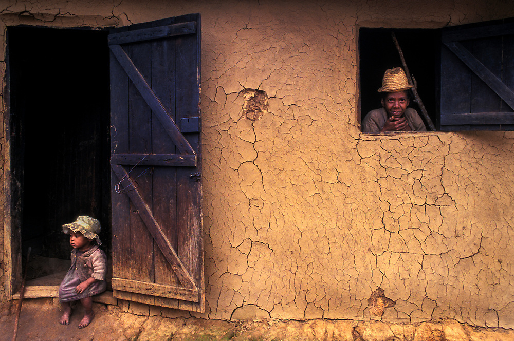 MADAGASCAR: Fianarantsua highlands<br /> Locals do not have shoes and live in mud huts. This is one of the poorest countries in the world, and this one of its toughest regions. Yet the people are happy, spirited and uplifting.