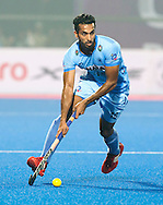 BHUBANESWAR  (INDIA)  - HERO Champions Trophy Hockey men. Day 1. Germany vs India. Dharamvir Singh of India.   PHOTO  KOEN SUYK