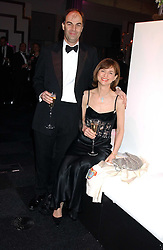 VISCOUNT & VISCOUNTESS MACKINTOSH OF HALIFAX at the Conservative Party's Black & White Ball held at Old Billingsgate, 16 Lower Thames Street, London EC3 on 8th February 2006.<br /><br />NON EXCLUSIVE - WORLD RIGHTS