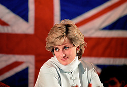 "Embargoed to 0001 Monday August 21 File photo dated 22/02/96 of Diana, Princess of Wales whose warmth, compassion and empathy for those she met earned her the description the ""people's princess""."