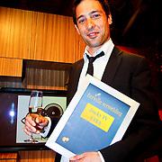 NLD/Amsterdam/20100527 - Uitreiking Zilveren Nipkowschijf 2010 , Sander van der Pavert met de Eervolle vermelding 2010 voor Lucky TV