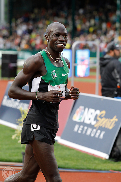 2012 Olympic Trials..Lopez Lomong.Photograph © Ross Dettman,.All Rights Reserved.