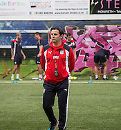 Dundee manager Paul Hartley -  Dundee FC pre-season testing at Manhattan Works, Dundee<br /> <br />  - &copy; David Young - www.davidyoungphoto.co.uk - email: davidyoungphoto@gmail.com