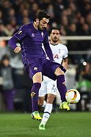 Davide Astori Fiorentina <br /> Firenze 18-02-2016 Stadio Artemio Franchi, Football, Europa League round of 32 Sedicesimi di finale Fiorentina - Tottenham .  Foto Andrea Staccioli / Insidefoto