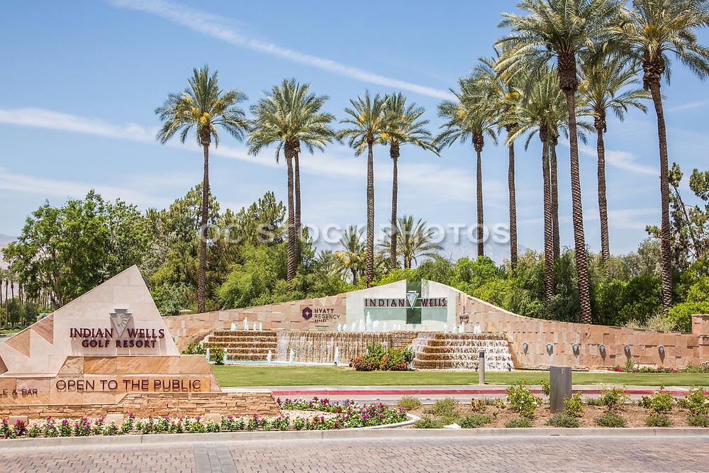 Indian Wells Golf Resort Entrance