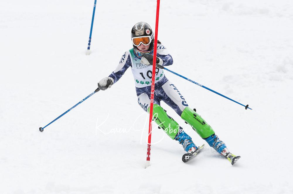 FIS NJR Ladies Slalom at Proctor/Blackwater  February 16,  2012.