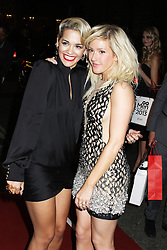 © Licensed to London News Pictures. 03/09/2013, UK. Ellie Goulding & Rita Ora, GQ Men of the Year Awards, Royal Opera House, London UK, 03 September 2013e. Photo credit : Richard Goldschmidt/Piqtured/LNP