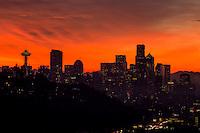 Autumn Sunrise in Seattle