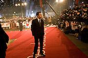 LEONARDO DICAPRIO, The European Film Premiere of 'Revolutionary Road' at the Odeon Leicester Square. London.18 January  2009 *** Local Caption *** -DO NOT ARCHIVE -Copyright Photograph by Dafydd Jones. 248 Clapham Rd. London SW9 0PZ. Tel 0207 820 0771. www.dafjones.com<br /> LEONARDO DICAPRIO, The European Film Premiere of 'Revolutionary Road' at the Odeon Leicester Square. London.18 January  2009