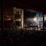 Diana Krall performs at The Music Hall in Portsmouth, NH. June 14 2017. Band members: Robert Hurst, bass; Karriem Riggins, drums; Anthony Wilson, guitar; Stuart Duncan, violin.