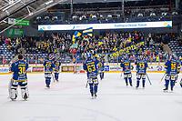2019-12-13 | Rauma, Finland : Lukko players celebrating with homecrowd during the game between Lukko-KalPa in Kivikylän Areena ( Photo by: Elmeri Elo | Swe Press Photo )