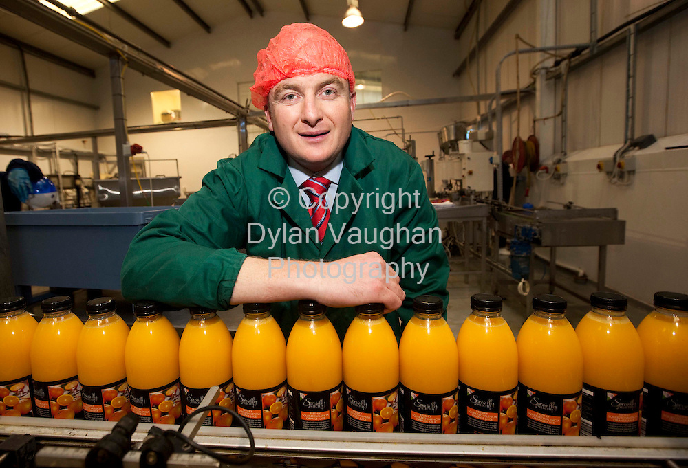 17/6/2009.Paul Walsh of Sunshine Juice in Carlow..Picture Dylan Vaughan