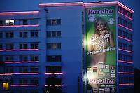 Fussball WM 2006 in Deutschland Das Pascha, eines der gruessten Bordels Europas, nutzt die Fussball-Weltmeisterschaft, um Kunden anzuwerben.