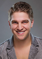 "Company portrait of Ethan Bell for Missouri Street Theatre's production of ""Once Upon A Mattress."" Photo by Mike Padua."