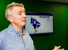 Michael O'Leary announces new Ryanair routes for 2017 | Edinburgh | 7 September 2016