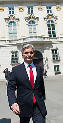 09.05.2016, Bundeskanzleramt, Wien, AUT, Rücktritt des Bundeskanzlers nach dem Treffen mit den SPÖ Länderchefs, im Bild Bundeskanzler Werner Faymann (SPÖ) // Federal Chancellor of Austria Werner Faymann after press conference regarding to resignation of the austrian fedeal chancellor Faymann at federal chancellors office in Vienna, Austria on 2016/05/09, EXPA Pictures © 2016, PhotoCredit: EXPA/ Michael Gruber