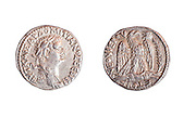 Roman Domitianus coin 81-96 CE Silver 14.4 gr