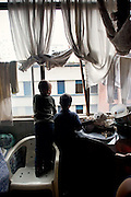 Two boys from the 315 children that lived at Prestes Maia occupation. (February, 2006)
