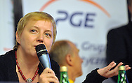 URSZULA BARANOWSKA - MARKETING'S DIRECTOR OF POLSKA GRUPA ENERGETYCZNA SA..SPECIAL OLYMPICS EUROPEAN SUMMER GAMES - WARSAW 2010..THE IDEA OF SEPCIAL OLYMPICS IS THAT, WITH APPROPRIATE MOTIVATION AND GUIDANCE, EACH PERSON WITH INTELLECTUAL DISABILITIES CAN TRAIN, ENJOY AND BENEFIT FROM PARTICIPATION IN INDIVIDUAL AND TEAM COMPETITIONS...WARSAW , POLAND , SEPTEMBER 15, 2010..MANDATORY CREDIT:.PHOTO BY ADAM NURKIEWICZ / MEDIASPORT