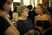 CLARE FARMER; A.S. BYATT; RACHEL CAGNONI, The 2009 Booker Prize dinner. Guildhall. London. 6 October 2009