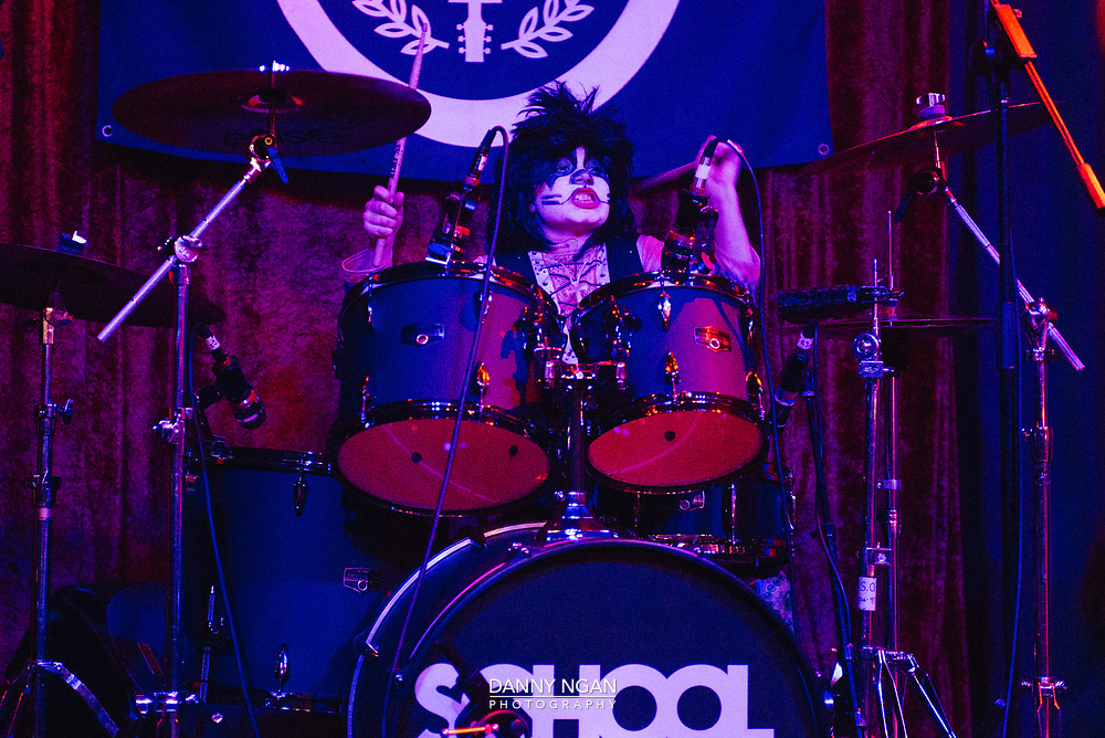 School of Rock Zombie Prom at The Palladium in Seattle, Washington, on Saturday, October 28, 2017.