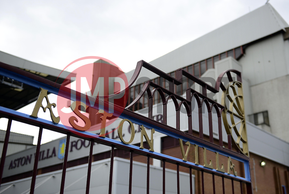 Vila Park - Photo mandatory by-line: Joe Meredith/JMP - Mobile: 07966 386802 23/08/2014 - SPORT - FOOTBALL - Birmingham - Villa Park - Aston Villa v Newcastle United - Barclays Premier League