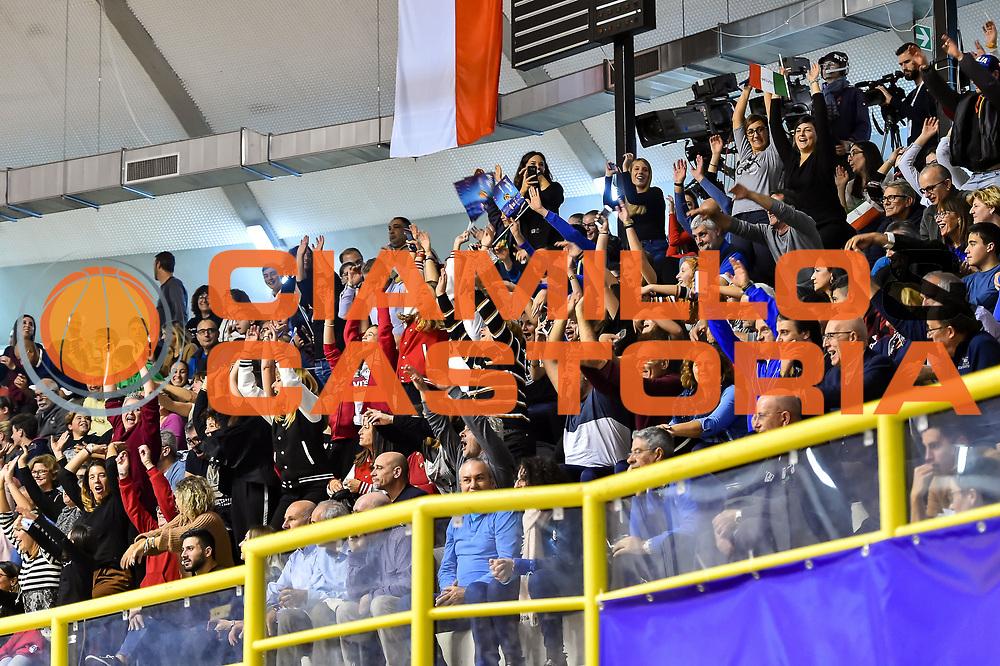 Tifosi<br /> Italia Italy - Repubblica Ceca Czech Republic<br /> FIBA Women's Eurobasket 2021 Qualifiers<br /> FIP2019 Femminile Senior<br /> Cagliari, 14/11/2019<br /> Foto L.Canu / Ciamillo-Castoria