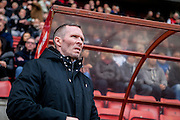 Oxford Manager Michael Appleton during the Sky Bet League 2 match between Leyton Orient and Oxford United at the Matchroom Stadium, London, England on 17 October 2015. Photo by Bennett Dean.