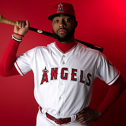 Los Angeles Angeles' Jo Adell #59 during photo day at Tempe Diablo Stadium on Tuesday, February 19, 2019 in Tempe, Arizona. (Photo by Keith Birmingham, Pasadena Star-News/SCNG)