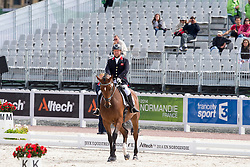 Lee Pearson, (GBR), Zion - Freestyle Grade Ib Para Dressage - Alltech FEI World Equestrian Games™ 2014 - Normandy, France.<br /> © Hippo Foto Team - Leanjo de Koster<br /> 25/06/14