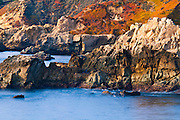 Rocky coastline at Soberanes Point, Garrapata State Park, Big Sur, California