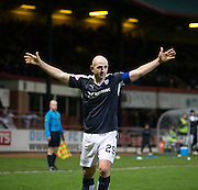 Dundee&rsquo;s Gary Harkins celebrates after scoring his side's third goal  - Dundee v Falkirk, William Hill Scottish Cup Fourth Round at Dens Park <br /> <br />  - &copy; David Young - www.davidyoungphoto.co.uk - email: davidyoungphoto@gmail.com