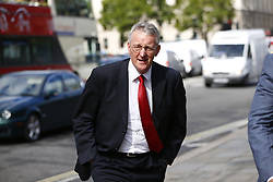 © Licensed to London News Pictures. 14/09/2015. London, UK. Labour Party's shadow foreign secretary Hilary Benn arriving at House of Parliament on Monday, September 14, 2015. Photo credit: Tolga Akmen/LNP