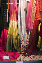 Solk scarves are a favoorite sourvenir of Menaggio on Lake Como, Italy.