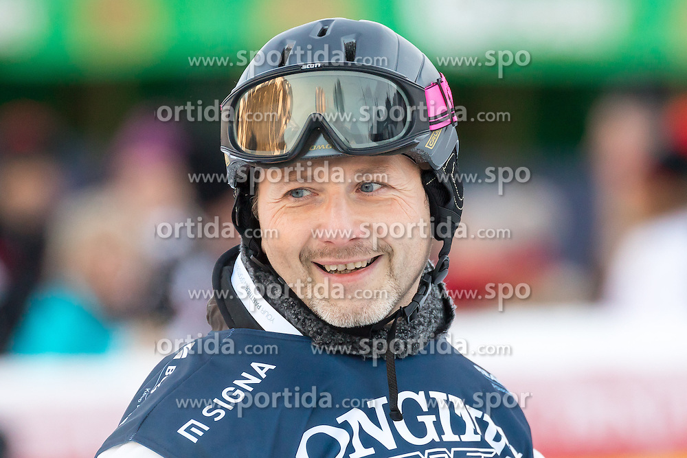 21.01.2017, Hahnenkamm, Kitzbühel, AUT, FIS Weltcup Ski Alpin, KitzCharity Trophy, im Bild Rainer Schamberger (Mastercard 2) // during the KitzCharity Trophy of FIS Ski Alpine World Cup at the Hahnenkamm in Kitzbühel, Austria on 2017/01/21. EXPA Pictures © 2017, PhotoCredit: EXPA/ Serbastian Pucher