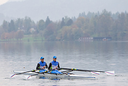 during media day of Slovenian National rowing team before World Championships in New Zealand 2010 on October 14, 2010 in Mala Zaka, Bled, Slovenia. (Photo by Vid Ponikvar / Sportida)