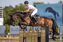 Roelofsen Fabienne, NED, Roelofsen Horse Trucks Eldorado S<br /> Nederlands Kampioenschap Springen<br /> De Peelbergen - Kronenberg 2020<br /> © Hippo Foto - Dirk Caremans<br />  06/08/2020