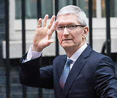 2017-02-09 Apple CEO Tim Cooke visits Downing Street