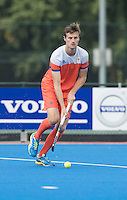 ARNHEM - Primeur. HIDDE TURKSTRA .  Het Nederlands Mannen hockeyteam traint in Arnhem in het Olympische Adidas tenue, dat tijdens de Olympische Spelen zal worden gedragen.   COPYRIGHT KOEN SUYK