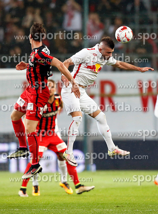 19.05.2016, Woerthersee Stadion, Klagenfurt, AUT, OeFB Samsung Cup, FC Admira Wacker Moedling vs FC Red Bull Salzburg, Finale, im Bild Valon Berisha (FC Red Bull Salzburg). // during the OeFB Samsung Cup final match between FK Austria Wien and FC Red Bull Salzburg at the Woerthersee Stadion in Klagenfurt, Austria on 2016/05/19. EXPA Pictures © 2016, PhotoCredit: EXPA/ Wolfgang Jannach