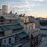 Neighborhood of Athens, Greece.