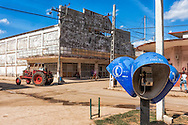 Street in Guira de Melena, Artemisa, Cuba.