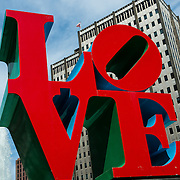 Love sculpture at JFK Plaza, Philadelphia
