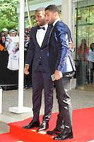 Alexandre LACAZETTE / Nabil FEKIR  - 17.05.2015 - Ceremonie des Trophees UNFP 2015<br /> Photo : Nolwenn Le Gouic / Icon Sport