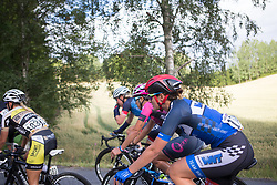 Hayley Jones (GBR) of Team WNT rides mid-pack on Stage 1 of the Ladies Tour of Norway - a 101.5 km road race, between Halden and Mysen on August 18, 2017, in Ostfold, Norway. (Photo by Balint Hamvas/Velofocus.com)